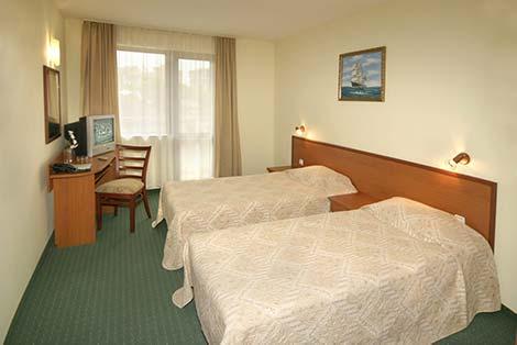 Двойна стая с балкон с разделени легла